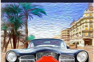 La Facel Vega Et Le Ruhl à Nice