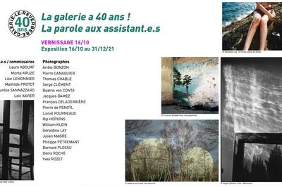 La galerie a 40 ans ! La parole aux assistant.e.s à Lyon