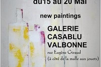 Adeline Métro, artiste peintre à Nice
