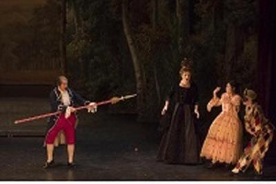 La Guerre Des Theatres à Versailles