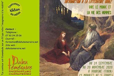 La littérature orale, une parole pour aujourd'hui à Dourgne
