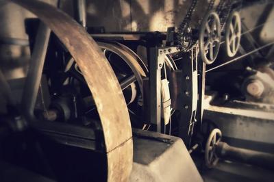 La Machinerie Du Funiculaire De Bregille à Besancon