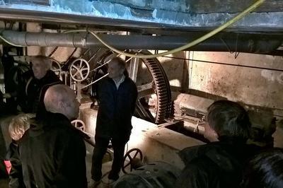 La Machinerie Du Funiculaire De Bregille À Besançon à Besancon