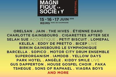 La Magnifique Society 2018