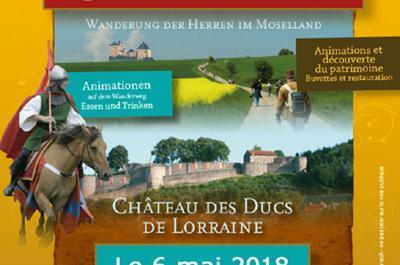 La Marche Des Seigneurs 17ème édition à Sierck les Bains