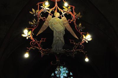 La Nuit à L'église Saint-pierre-le-jeune à Strasbourg