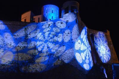 La Nuit Des Musées Au Fort Saint Elme à Collioure