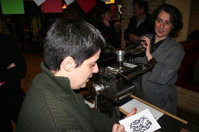 La Nuit En Couleur - Atelier Participatif Avec L'artiste Pascale Hémery à Gravelines