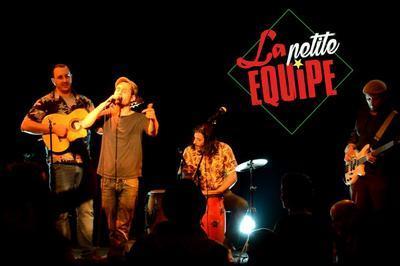 La petite équipe en concert à Carpentras