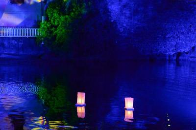 La Rivière D'abord En Lumière à Saint Pierre