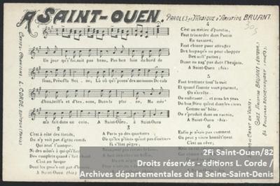 La Seine-saint-denis En Chantant à Bobigny
