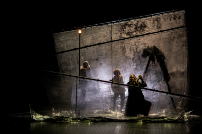 La Tempête  Shakespeare Par La Compagnie Sophie Anglade à Mont saint Aignan