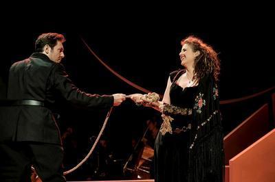 La Tragédie de Carmen | Fiona Monbet - Romain Louveau - Florent Siaud - Ensemble Miroirs Étendus / Théâtre Impérial de Compiègne à Sete