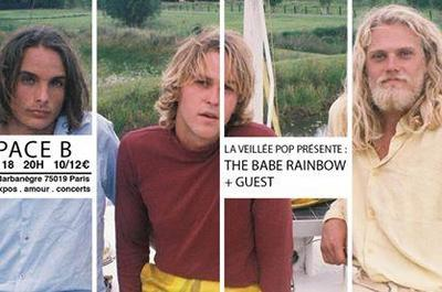 La Veillée Pop #3 : The Babe Rainbow + guest à Paris 19ème