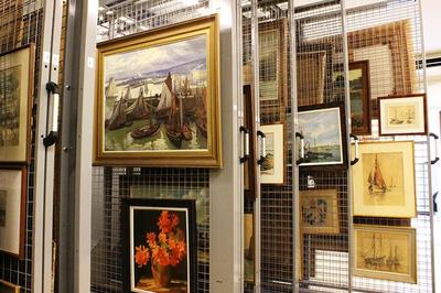 La Vie Cachée Des Oeuvres De La Collection Municipale à Concarneau