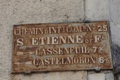Laissez-vous Conter Saint-etienne à Saint Etienne de Fougeres