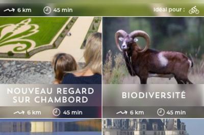 Lancement De L'application La Boussole à Chambord