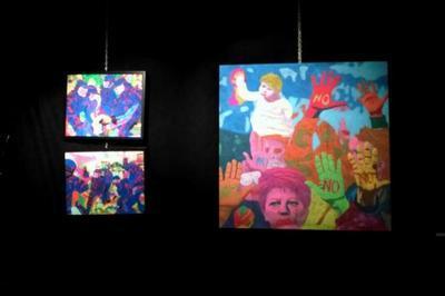 «Latente», Manon kownacki Exposition à Nilvange