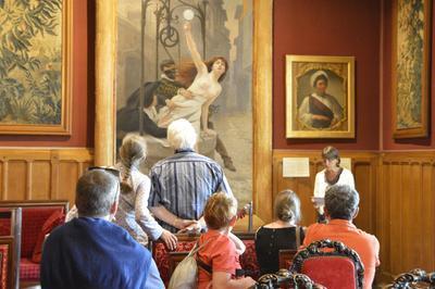 «la Classe, L'oeuvre!», De Jeunes Historiens De L'art Investissent Le Musée à Amboise