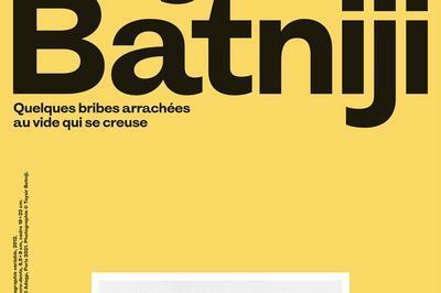 « Quelques Bribes Arrachées Au Vide Qui Se Creuse », Exposition De Taysir Batniji Au Mac Val à Vitry sur Seine