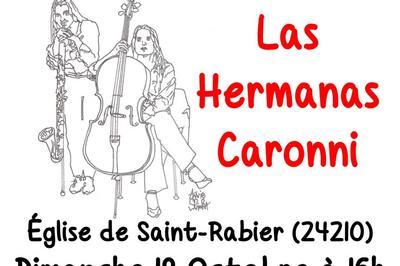 Las Hermanas Caronni - Musiques d'Argentine et d'ailleurs à Saint Rabier