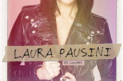 Laura Pausini à Paris 19ème