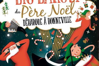 Le big barouf du Père Noël à Bonneville