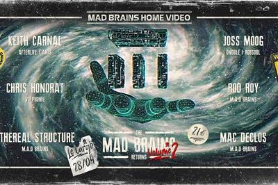 Le Cargö x M.A.D Brains | Keith Carnal, Chris Honorat, Joss Moog à Caen