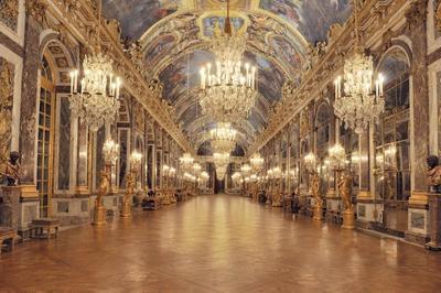 Le Château, La Nuit. à Versailles