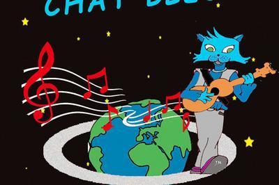 Le chat bleu à Nimes