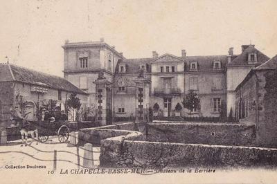 Le Château De La Berrière à La Romagne