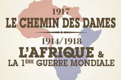 1917 - Le Chemin Des Dames - Poilus D'ailleurs Et Les Cuirassiers À Pied à Chartrettes