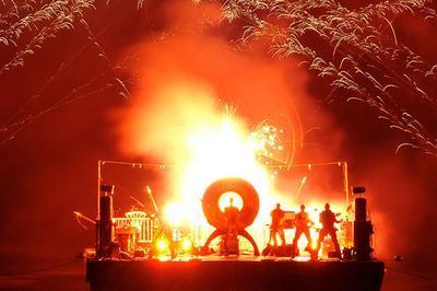 Le Concert De Feu - Spectacle Pyrotechnique Et Feu D'artifice à Bliesbruck