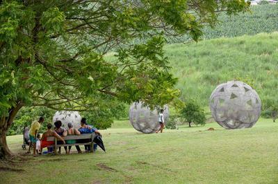 Le François / Habitation Clément / Visite Commentée Du Jardin Des Sculptures à Le Francois