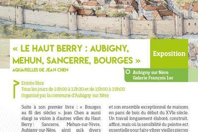 Le haut Berry : Aubigny, Mehun, Sancerre, Bourges à Aubigny sur Nere