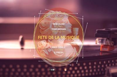 Le Marie Suzy I Rob Duke, Tom Akman, Max Cohle & G Fresh à Paris 8ème