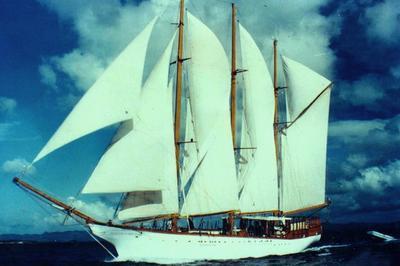 Le Marin / Trois-mâts Goélette Le Toumelin / Visite Guidée à La Marina