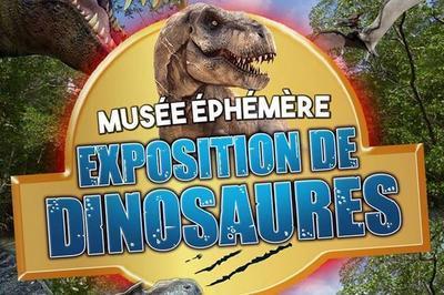Le Musee Ephemere Exposition De Dinosaures à Besancon