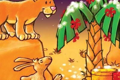 Le Noël de Petit Lion à Basse Goulaine