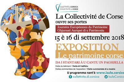 Le Patrimoine Corse : Da I Stantari à U Cantu In Paghjella à Bastia
