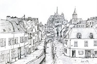 Le quartier St-Leu d'Amiens