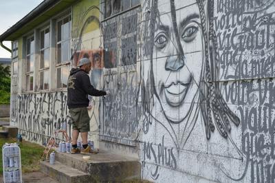 Le Street Art À Yzeure