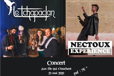 Le Tchapaclan & Nectoux Experience live à Marseille