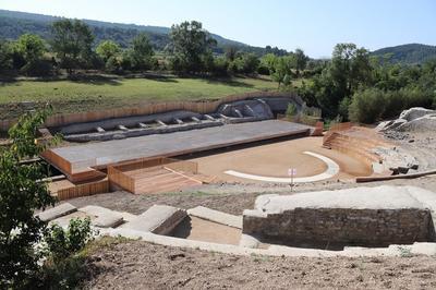 Le Théâtre Antique Et Sa Restauration : Une Aventure Archéologique à Alba la Romaine