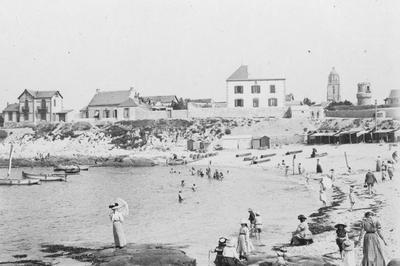 Le Tourisme Balnéaire En Presqu'île De Guérande à Batz sur Mer