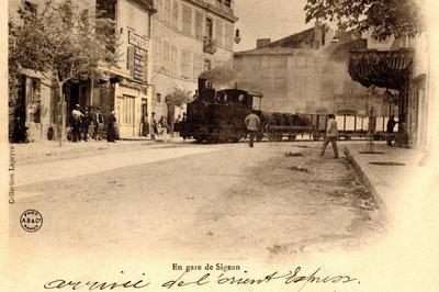 Le Tramway De L'aude à Sigean
