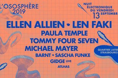 Len Faki   Paula Temple   Ellen Allien à Strasbourg