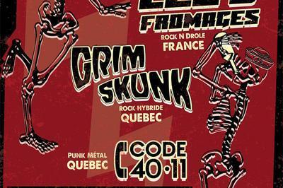 Les 3 Fromages + Grimskunk à Nantes