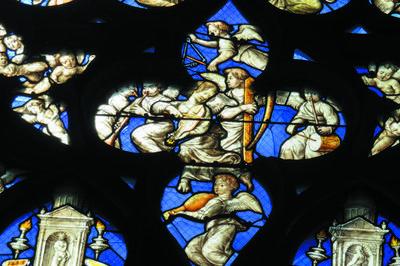 Les Anges Musiciens De La Cathédrale Saint-etienne à Bourges