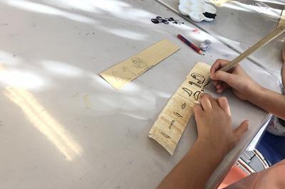 Les Ateliers Instantanés Enfants «avant La Lettre, Les Hiéroglyphes» à Lunel